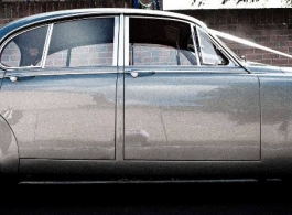 Classic Jaguar for weddings in High Wycombe